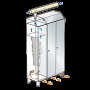 Шкафы с подключением к вентиляции