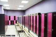 Раздевалки для девочек в спортзале 20 фотография